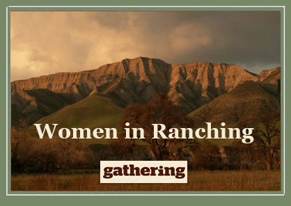 Women in Ranching - February and March, 2018